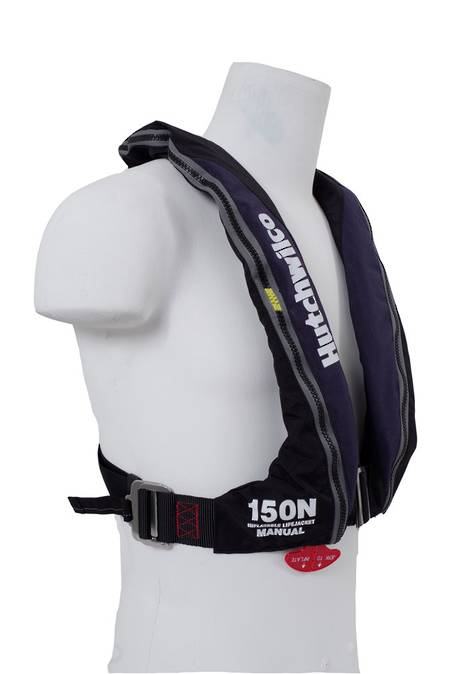 HW SUPER COMFORT GP170N Inflatable Lifejacket CO2 MANUAL