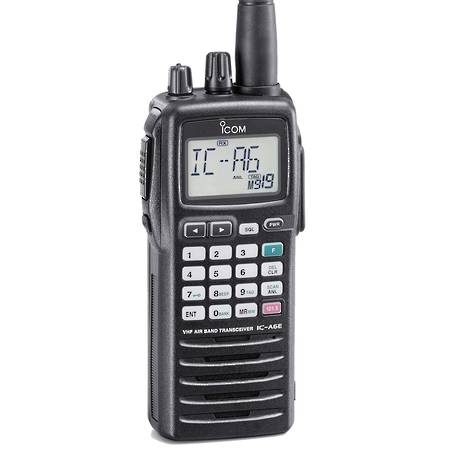 ICOM IC-A6E Handheld Airband Transceiver  NOW Discontinued  Refer to the IC-A25CE