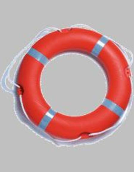 "Round 30"" (75cm) SOLAS Lifebuoy - 2.5kg Rail Mount - Rescue Orange  #16095"