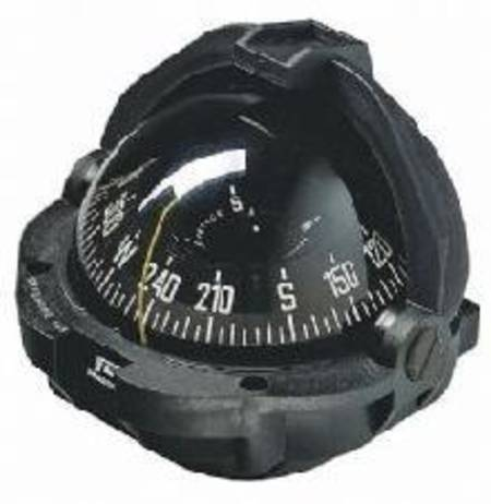 Plastimo Offshore 135 Compass, Black, Flush Mount, Edge Read Card 23486