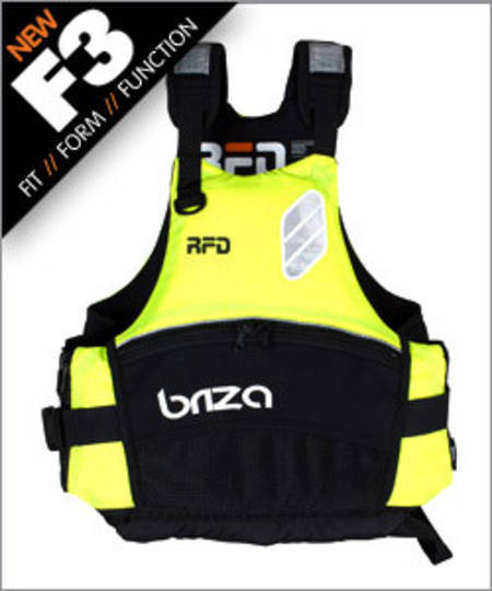 RFD BRIZA Type 405 Buoyancy Vest, 53N, Size: Adult XSmall/Small