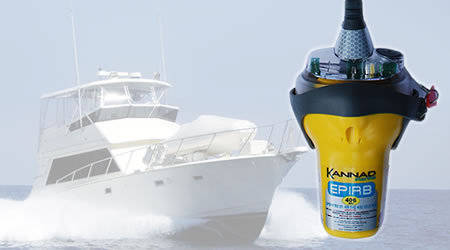 Kannad Marine Sport 406 EPIRB, Manual with Bracket