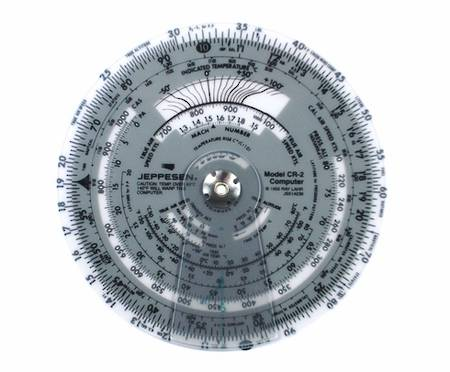 "Circular Flight Computer - Jeppesen CR-3 6"" diameter"