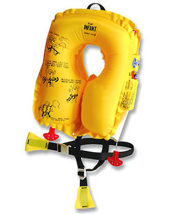 EAM INV20L8 Infant Aviation Inflatable Lifejacket children under 16kg 10 Year Service.