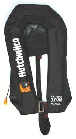 HW Pro-Spec 170N Manual Lifejacket - Black