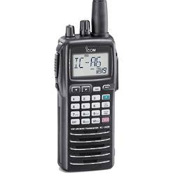 ICOM IC-A6E Handheld Airband Transceiver  NOW Discontinued (Equivalent is the IC-A24 Nav/Com model RA8014)