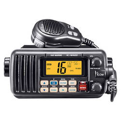 ICOM IC-M422 -In-boat VHF w/- NMEA Input/Output (Black or White)