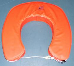 Horseshoe Lifebuoy - PLastimo - Red