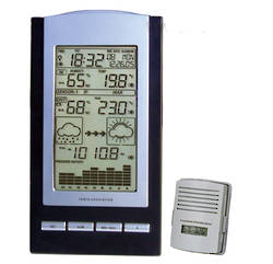Tesa Wireless Moon Phase Weather Station with Barometer - WS1151