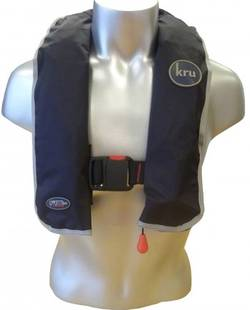 Kru XS Manual 150N Inflatable Lifejacket -Adult 40kg+