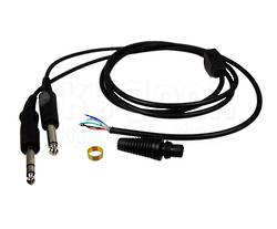 PILOT PA78 replacement mono comm's cord for GA Headset