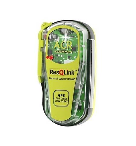 ACR ResQLink+  Personal Locator Beacon (PLB)  with built in Buoyancy and  GPS. 406Mhz