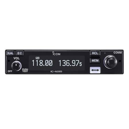 ICOM IC-A220E TSO Approved Panel Mount VHF Airband Radio