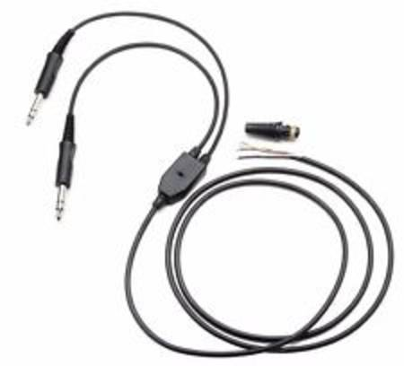 PILOT PA79 replacement mono/Stereo headset cable