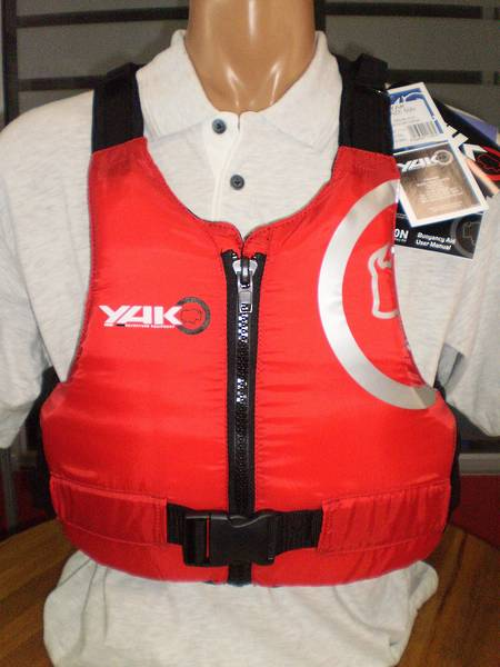 234e32349 YAK Blaze 50N Buoyancy Aid - Adult Med/Lge for 107 to 117cm Chest