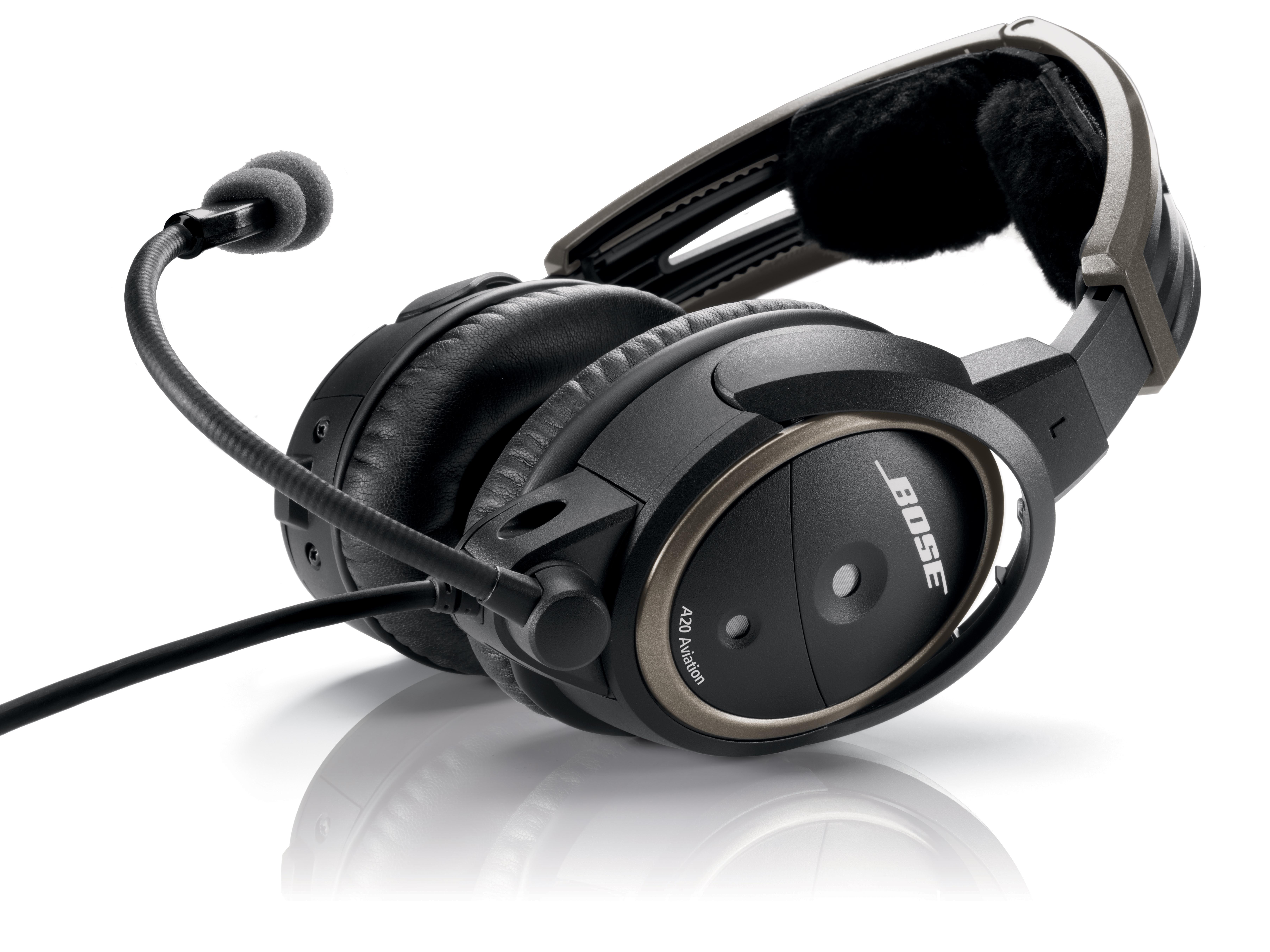Bose A20 Avtive Noise reduction ANR helicopter Headset with Bluetooth
