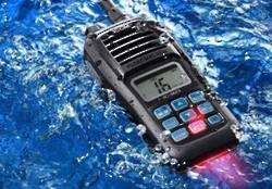 ICOM IC-M23 Float'n Flash VHF Marine Handheld Radio