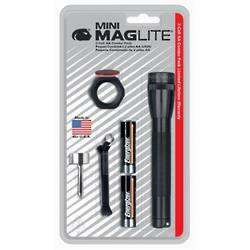 Mini-Maglite Combo Pack Flashlight - Black 2x AA M2A01C