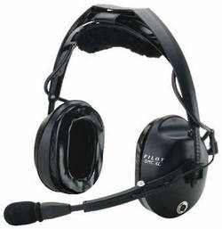 Pilot USA PA17-79T ANR Headset for Fixed Wing Aircraft